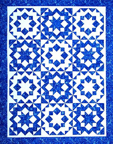 Happy Stash Quilts Crystal Snowflakes Quilt Pattern