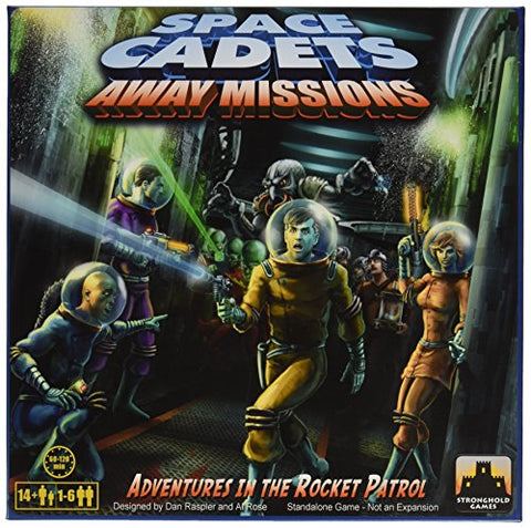Space Cadets Away Missions Board Game