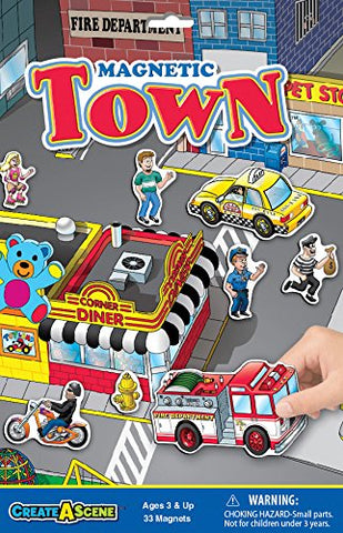 Patch Products Smethport Create-a-Scene Magnetic Town Playset