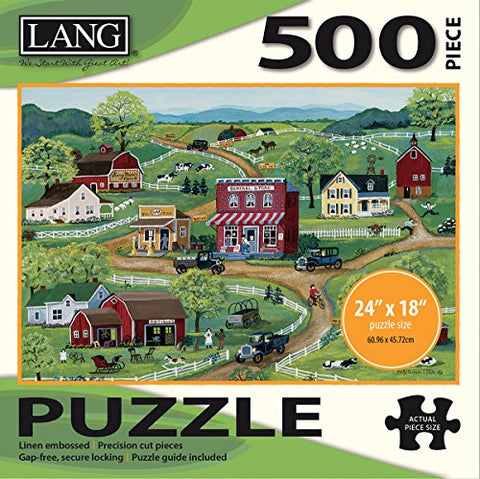 LANG - 500 Piece Puzzle - General Store - Art by Mary Singleton