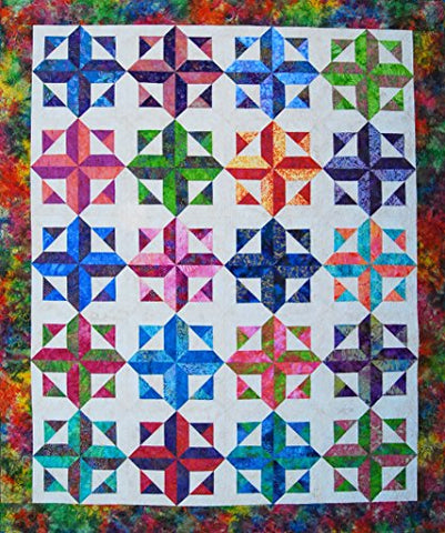 Happy Stash Quilts Robin's Rainbow quilt pattern