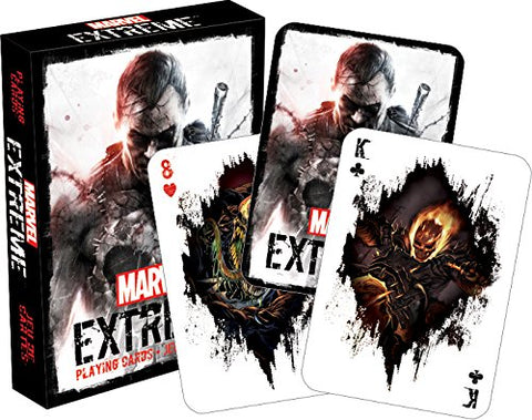 Marvel Extreme Playing Cards