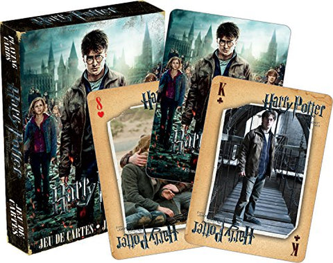 Harry Potter & the Deathly Hallows Part 2 Playing Cards