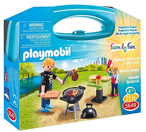 PLAYMOBIL Carrying Case Small Barbeque