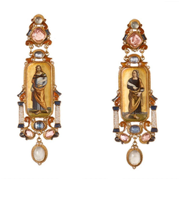 Some Glorious Earrings By Diego Percossi Papi