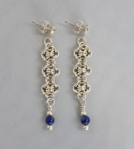 Blueberry Ice Earrings