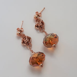 Garden Peony Earrings