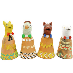 South American Ceramic Bells