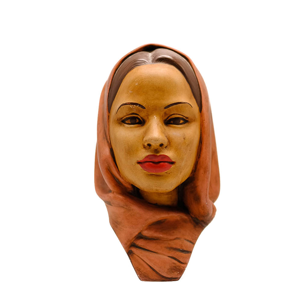 Porcelain Female Head