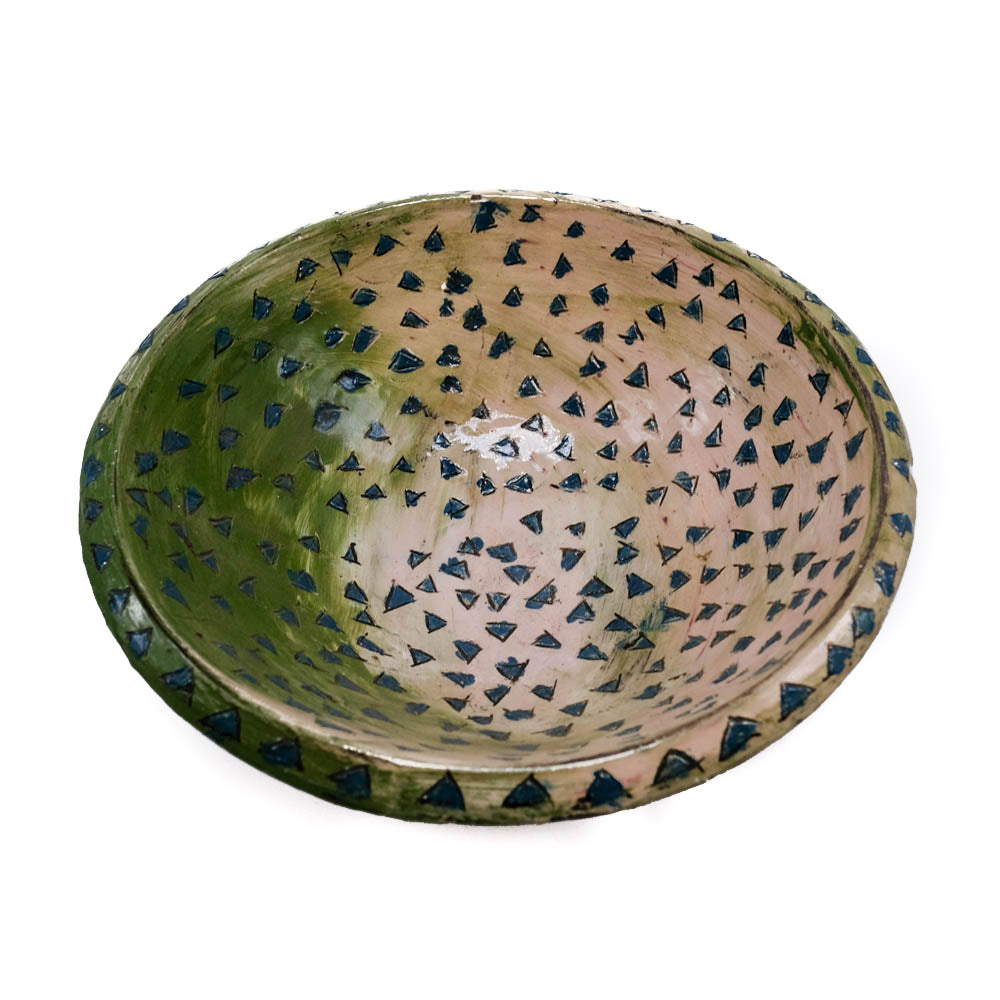 Painted Ceramic Bowl