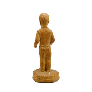 Little Boy Ceramic Statue