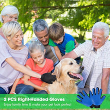 Limited Edition Grooming Gloves, Best Gloves for Deshedding Dogs - Hugs with Paws