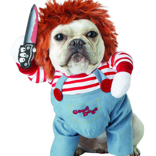 Chucky Halloween Costume With Multiple Options - Hugs with Paws