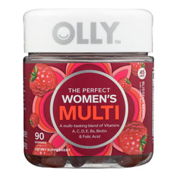 Olly - Vitamins Multi Womens Berry - 1 Each - 90 Ct - Reese Nutrition