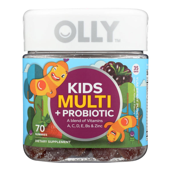Olly - Kids Multivitamin Berry + Probiotic - 70 Ct