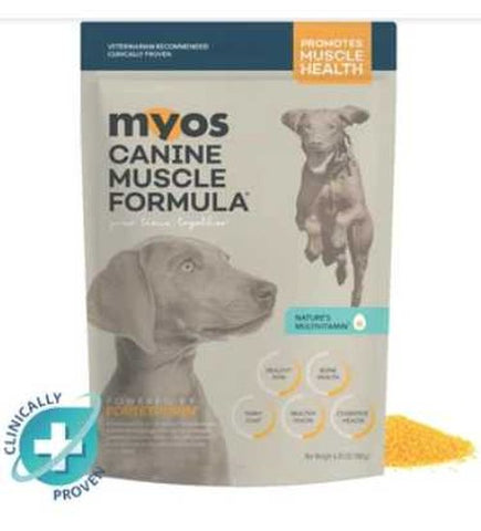 MYOS Canine Muscle Formula Pouch with Fortetropin®