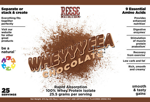 WheyyyEAA™ 100% Whey Isolate Protein Powder - 2lb - Reese Nutrition