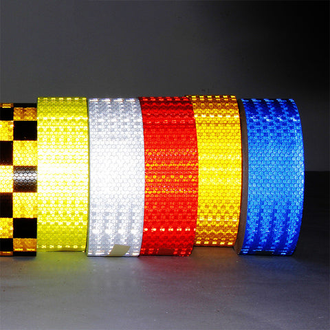 Professional Grade Reflective Adhesive Tape - Select Your Color & Length
