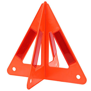 Reflective Emergency Triangle - Folds for Compact Storage