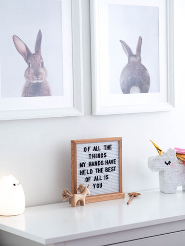 Letter Board Easel Stand