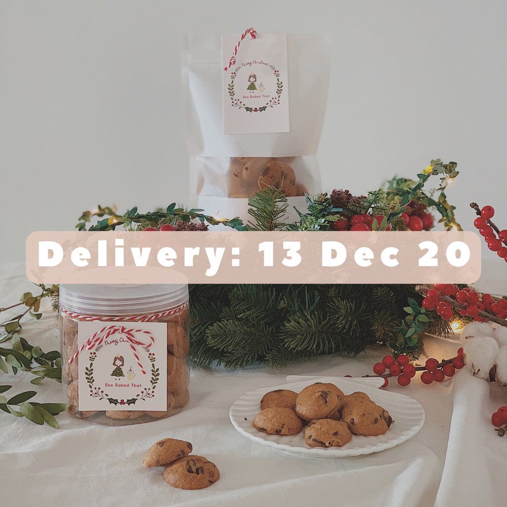 Christmas Cookies Pre-order (Delivery: 13 December 2020)