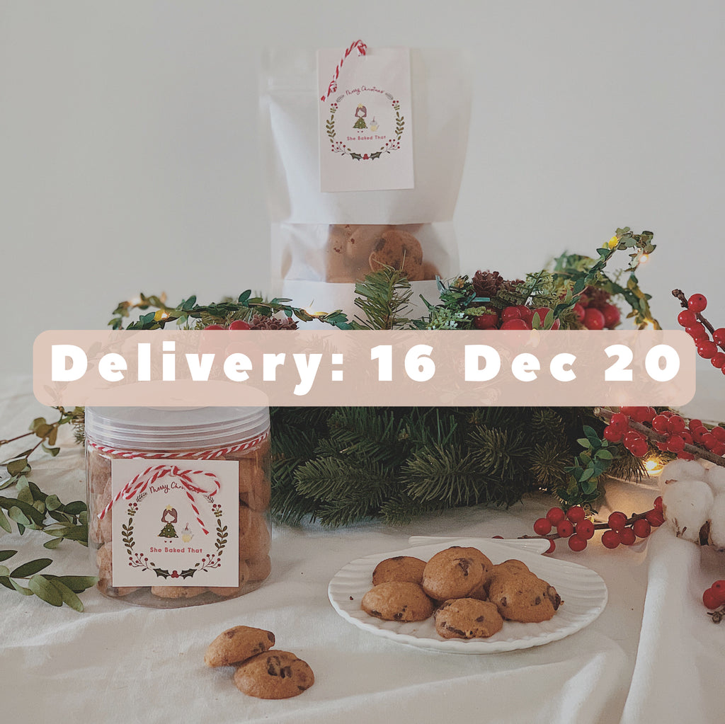 Christmas Cookies Pre-order (Delivery: 16 December 2020)