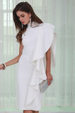 White Midi Dress - Derby Clothes