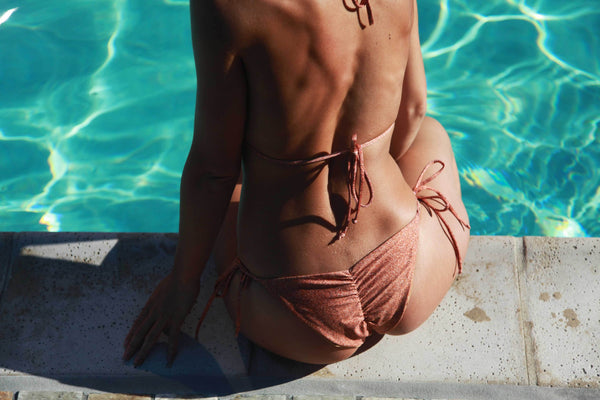 Nude Beach String Bikini Bottom - Derby Clothes