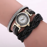 1pc Rhinestone Bracelet Women Watch Quartz Wristwatch Relogio Feminino Montre Femme Reloj Mujer - Derby Clothes