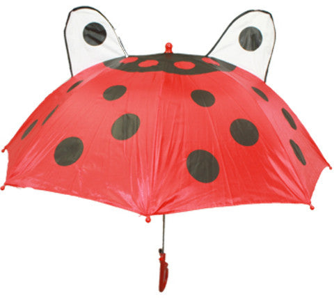 Kid's Umbrella with Ladybug Design