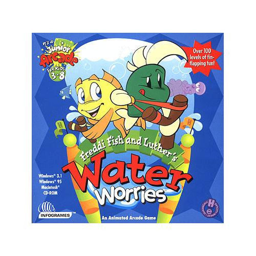 "Freddi Fish and Luther""s Water Worries"