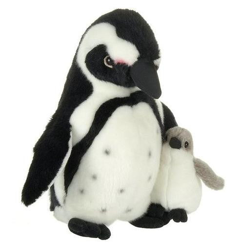 "10.5"" Penguin With Baby"