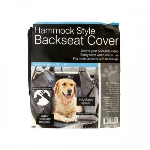 Hammock Style Backseat Cover (pack of 1)