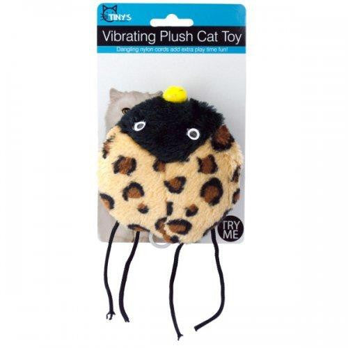 Vibrating Plush Cat Toy (pack of 12)