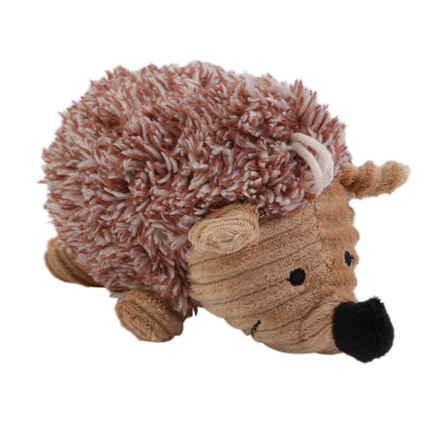 Hedgehog Plush Squeaker Dog Chew Toy