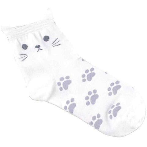 Ladies Kitty Socks