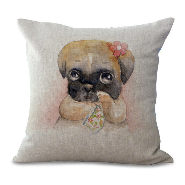 Pillow with Dog