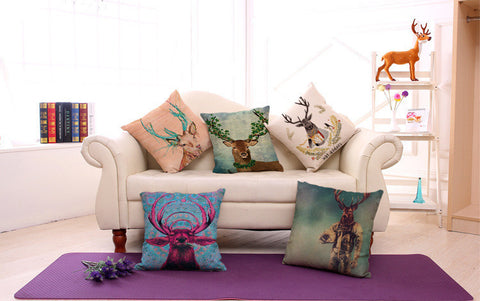 Deer Pillow Cases
