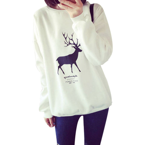 Women's Sweatshirt with Buck