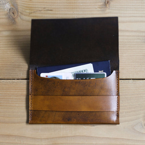 Samuel Passport Holder (Mahogany Color)