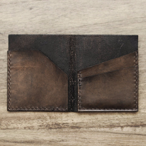 Minimalist Bifold Wallet (Light Brown Color)