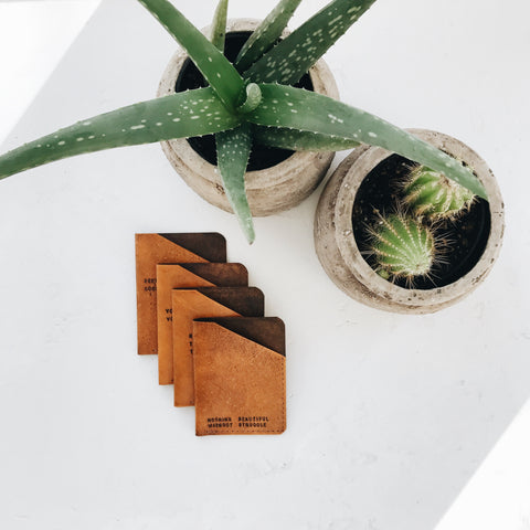 Minimalist Wallet (Tan Color)