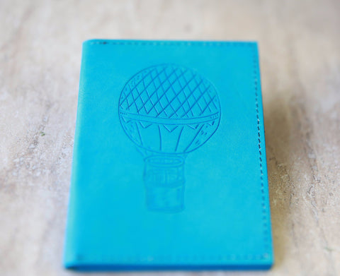 Turquoise Passport Holder