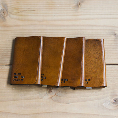 Groomsmen Gifts by Red Leaf Leather