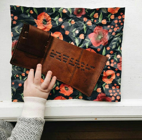 The Secret Life of Walter Mitty Wallet (Mahogany Color)