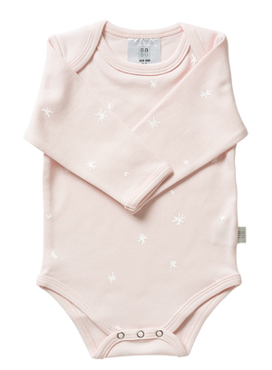 Organic Cotton Bodysuit Blush (0-3 Months)