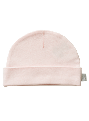Organic Cotton Hat Blush (0-3 Months)