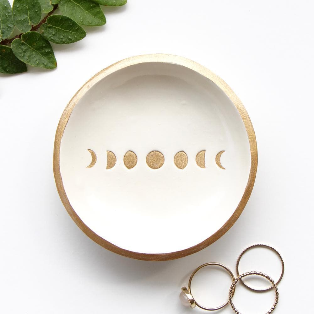 Moon Phase Jewellery Dish