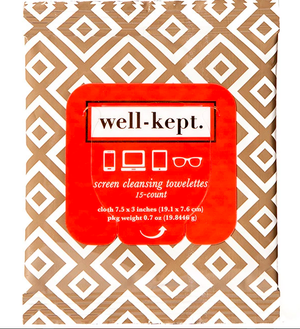Well-Kept Tech Wipes - La Jolla