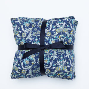 Gathered By TCO Wheat Bag Winter Garden Blue